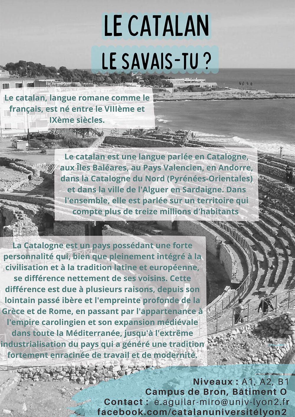 Le Catalan à Lyon 2