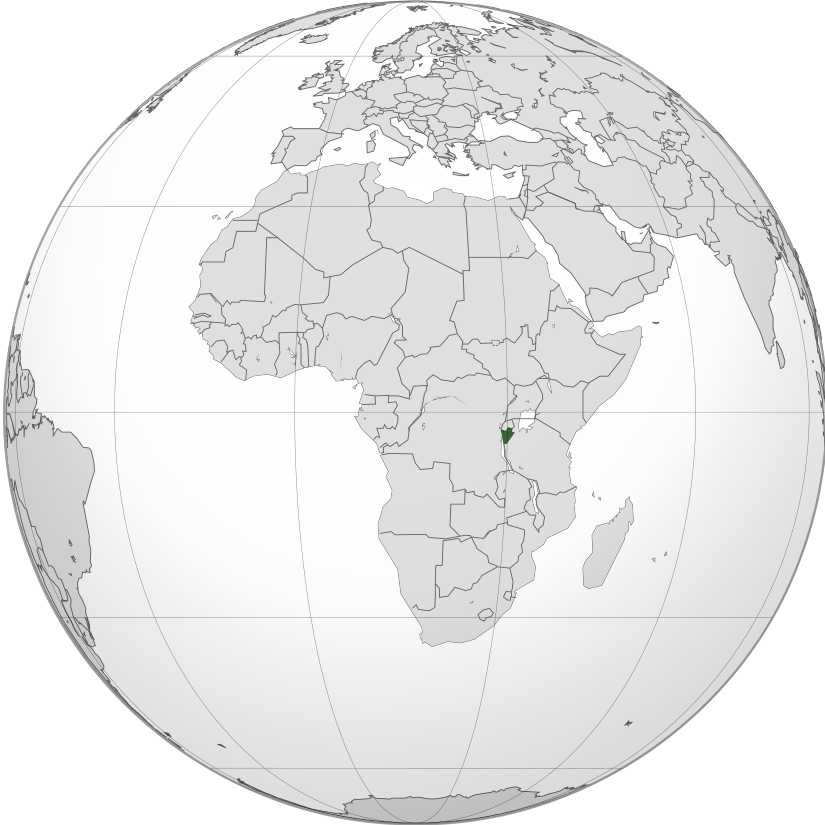 Localisation Burundi