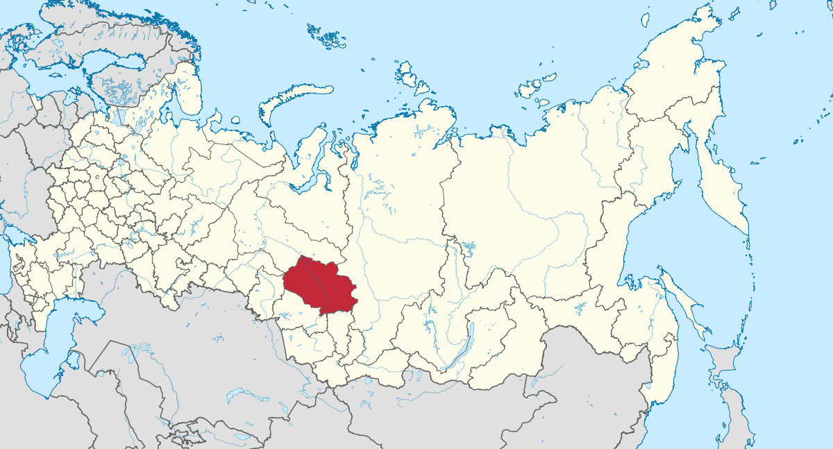 Tomsk - localisation