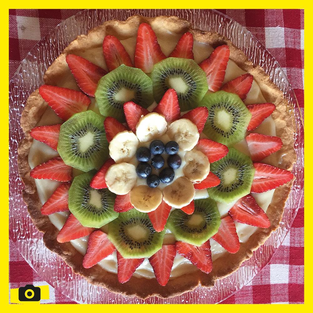 Cuisine - tarte aux fruits