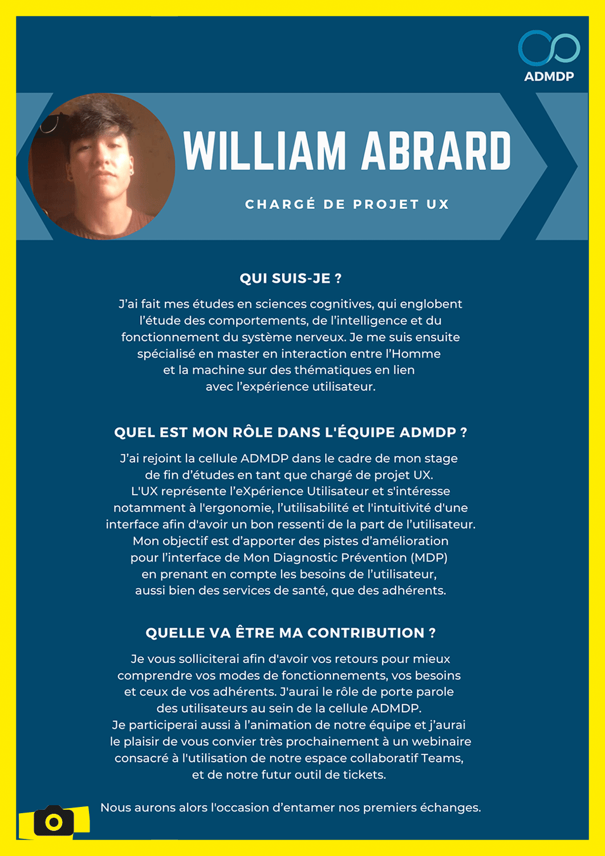 Portrait William Abrard