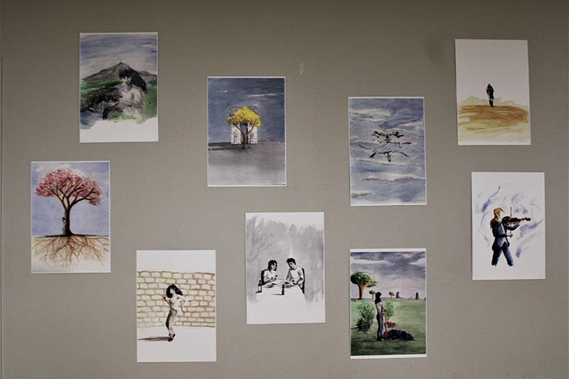 Déraciné.es : illustrations