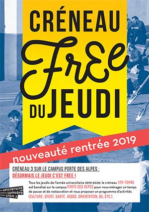 Créneau free (3) du jeudi