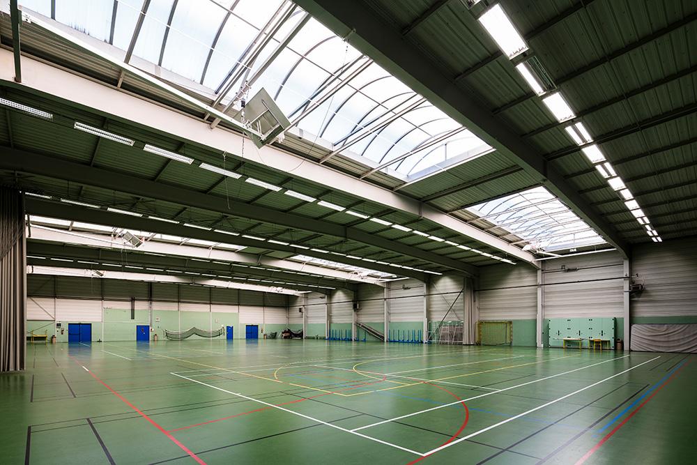Halle de sport 2 - intérieur