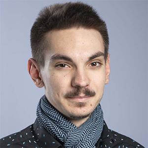 Loïc Bidault, vice-président étudiant
