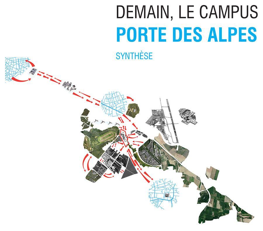 Le Campus Porte des Alpes évolue