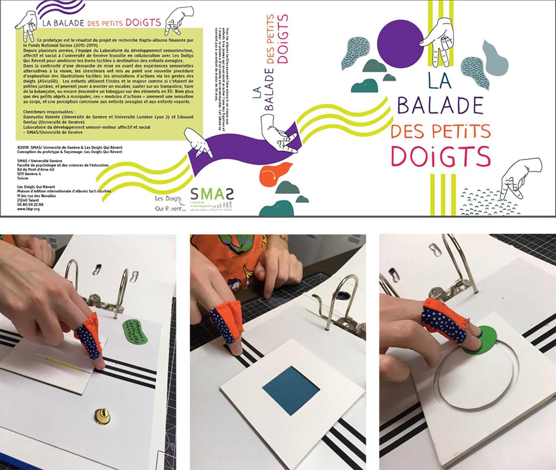 """Prototypes """"La balade des petits doigts"""""""