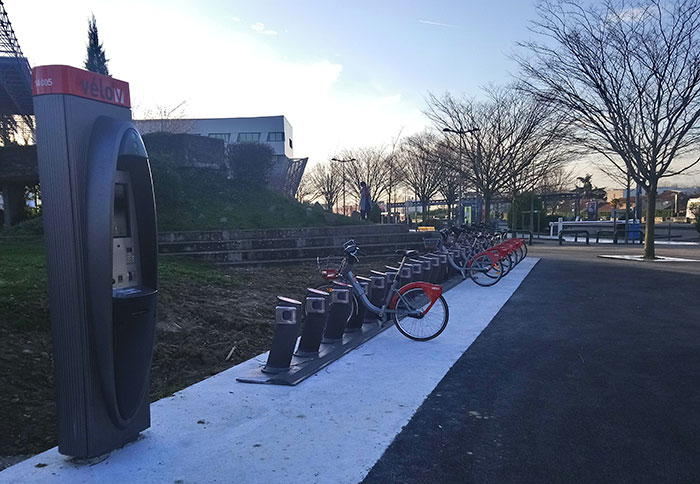 Vélo'v campus PdA