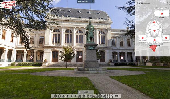Visite virtuelle du Palais Hirsch
