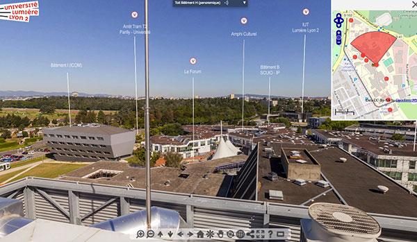 Visite virtuelle du campus Porte des Alpes